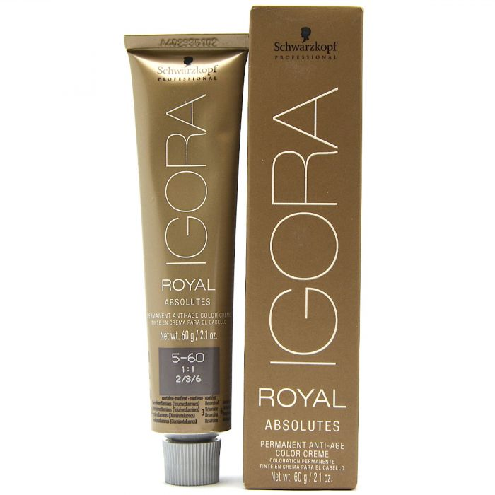 Schwarzkopf Igora Royal Absolutes Permanent Anti Age Color Creme 21