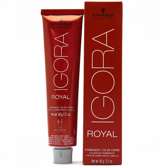 Schwarzkopf Igora Royal Permanent Color Creme 21 Fl Oz 60 G