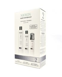 Nioxin 2 Hair System Kit for Fine Hair | Noticeably Thinning