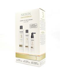 Nioxin 3 Hair System Kit for Fine Hair | Normal to Thin-Looking Chemically Treated